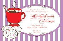 Classic Cookie Cocoa Holiday Invitations