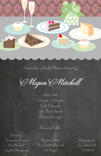 Classic Dessert Table Invitations