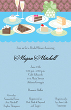 Festive Dessert Table Invitations