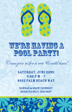 Sandals Beach Invitations