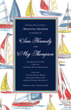 Classic Sailing Themed Invitations