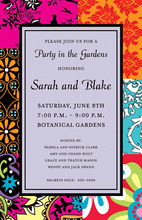 Modern Bohemian Pattern Invitations