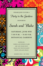 Whimsical Bohemian Sage Invitations