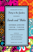 Bohemian Border Stylist Invitations