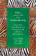 Spring Safari Life Invitations