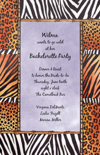 Lavender Safari Life Invitations