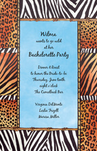 Animal Skin Spirit Invitations