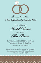 Ring Bliss Engagement Invitation