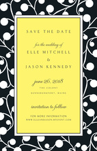 Night Berries Invitation