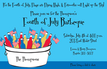 July Bucket Invitation