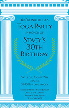 Mega Toga Greek Inspired Invitations