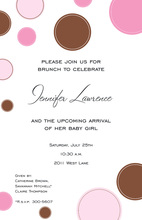 Dapple Pink Invitation