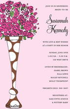 Tall Vase Invitations