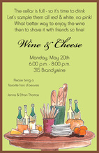 Wine Table Invitation