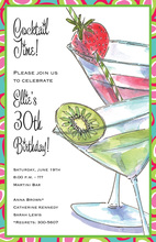 Fruity Sips Invitation
