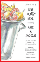 Outdoor Low Country Boil Invitations