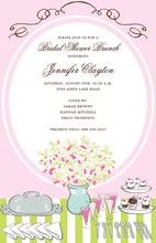 Bridal Buffet Invitation