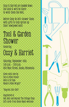 Our Fun Tools On The Right House Shower Invitations
