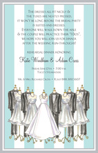Special Wedding Party Dress Invitations