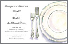 Classic Place Setting Invitations