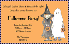 Spooky Kids Invitation