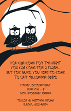 Hoot Hoot Invitations