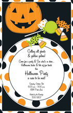 Treats Placesetting Invitation