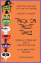 Spooky Friends Halloween Invitation