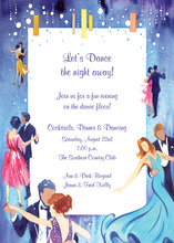 Numerous Dancing Partners Invitation