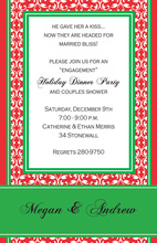 Merry Motif Holiday Invitations