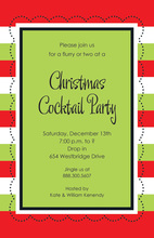 Cheerful Stitch Invitation