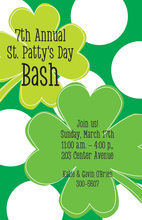 Big Clovers Invitations