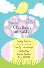 Chick Stack Invitations