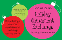 Ornament Joy Invitations
