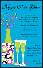 New Year Glitz Invitations