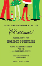 Merry Gathering Holiday Invitations