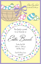 Easter Placesetting Invitation