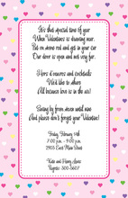 Spread Pop Love Pink Pastel Invitation