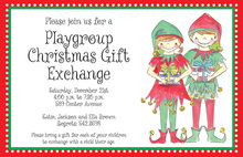 Elf Kids Invitation