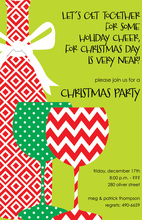 Merry Wine Invitation