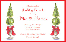 Topiary Elegance Invitations