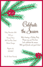 Balsam Branches Invitation