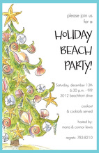 Deco Shells Invitations