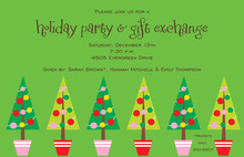 Tree Medley Invitation