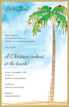 Holiday Breezes Invitation