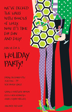 Merry Couple Holiday Invitations