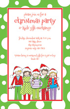 Merry Kids Invitation