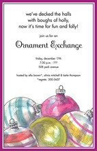 Bulb Jumble Invitation
