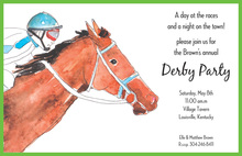 Ultimate Horse Power Derby Invitations