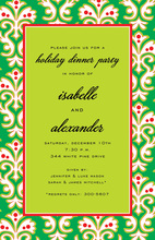 Green Dandy Invitation
